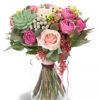 Nice aloe pink bouquet